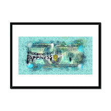 Load image into Gallery viewer, Money Doesn't Buy Happiness - Poster Framed