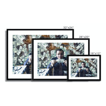 Load image into Gallery viewer, Money, Money, Money - Poster Framed