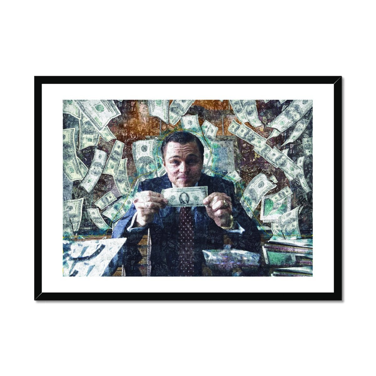 Money, Money, Money - Poster Framed