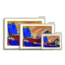 Load image into Gallery viewer, Painting with Troika - Vasily Kandinsky - Framed Poster