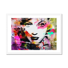 Load image into Gallery viewer, Passionate Eyes - Poster Framed
