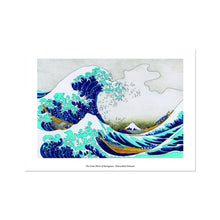 Load image into Gallery viewer, The Great Wave of Kanagawa - Poster Framed