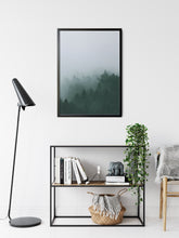 Load image into Gallery viewer, Misty Mountain - Poster Framed
