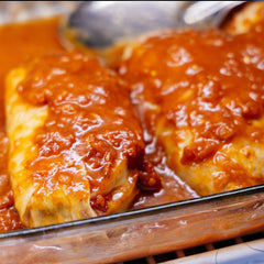 Cabbage Rolls with Mash Potatoes