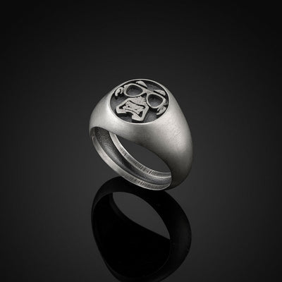 Bad Monkey Silver 925 Ring