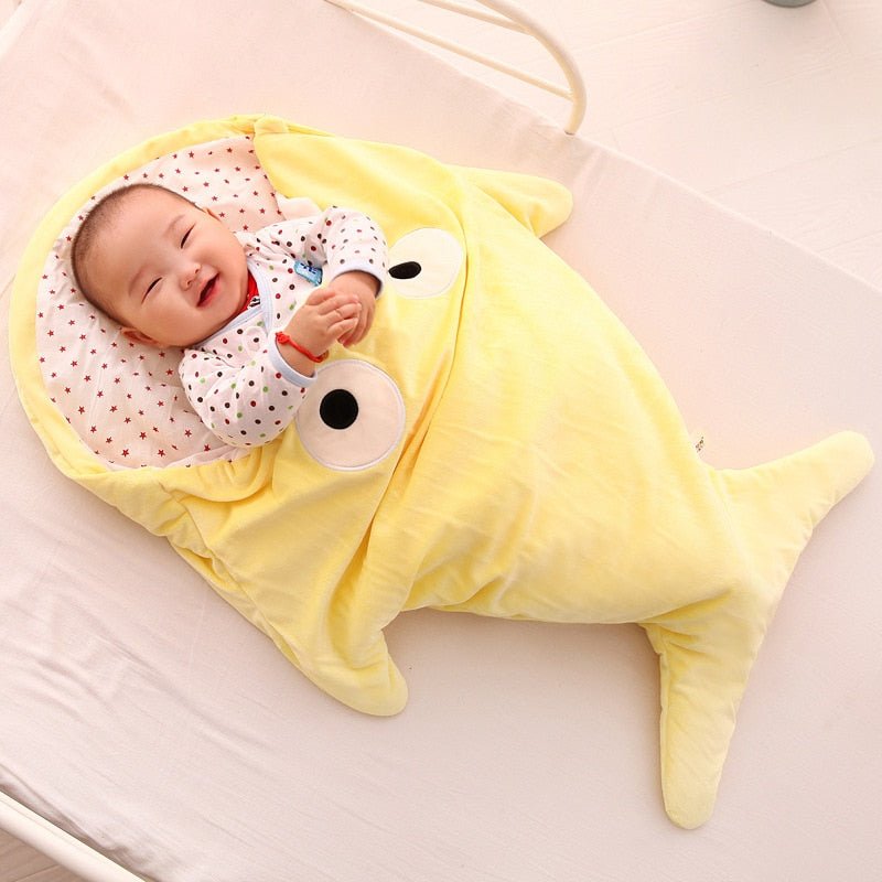 Newborn sleeping Wrap Bag kick-proof cartoon Sleeping Blankets