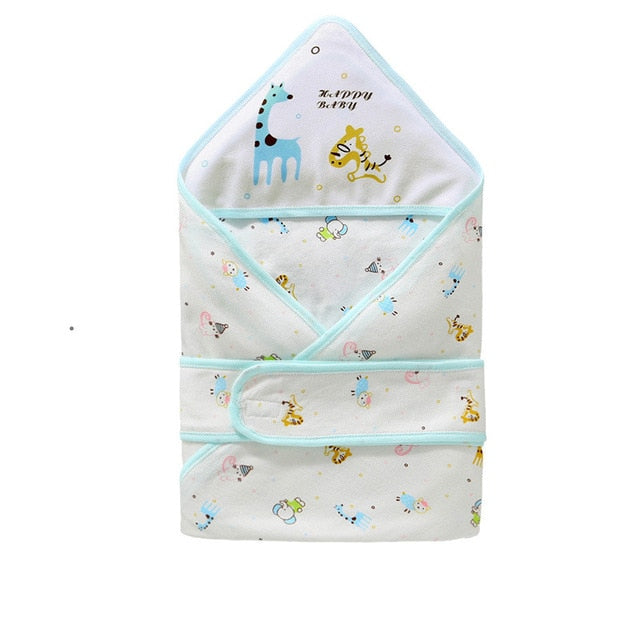 Newborns Baby Bedding Wrap Sleepsack Cartoon Bebe Blanket