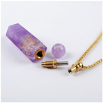 Lady Portia Alchemy Perfume Oil & Amethyst Crystal Pendant 20ml
