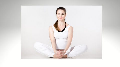 Seated butterfly stretch