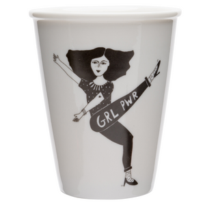 Tasse girl power