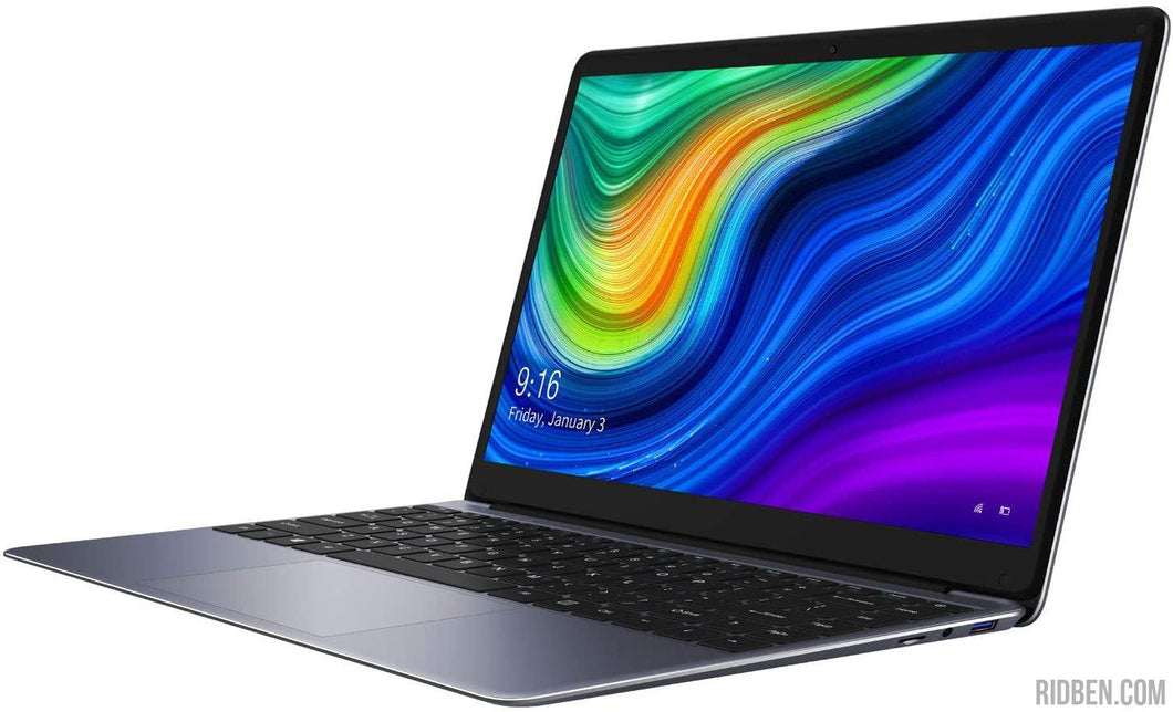 CHUWI HeroBook Pro 14,1 pouces Ultrabook Notebook Intel Geminil Lake N4000 jusqu'à 2,6 GHz, 4K 1920 x 1080, Windows 10, 8 Go de RAM SSD 256 Go, WiFi, USB 3.0, 38 Wh-Ridben Tech