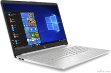 "Charger l'image dans la galerie, Ordinateur portable HP 15s-fq1049nf 15,6 ""FHD argent (Intel Core i3, 4 Go de RAM, 512 Go SSD, AZERTY, Windows 10)-Ridben Tech"