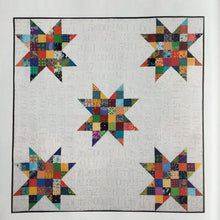 Load image into Gallery viewer, Bright Stars Quilt & Storage Basket Pattern