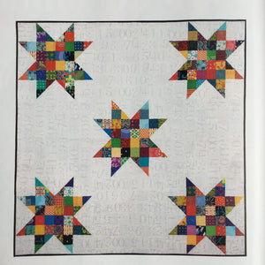 Bright Stars Quilt & Storage Basket Pattern