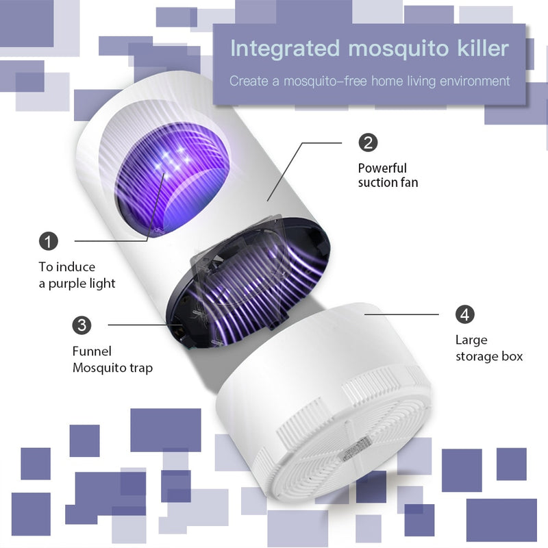 Mosquito lamp Safe