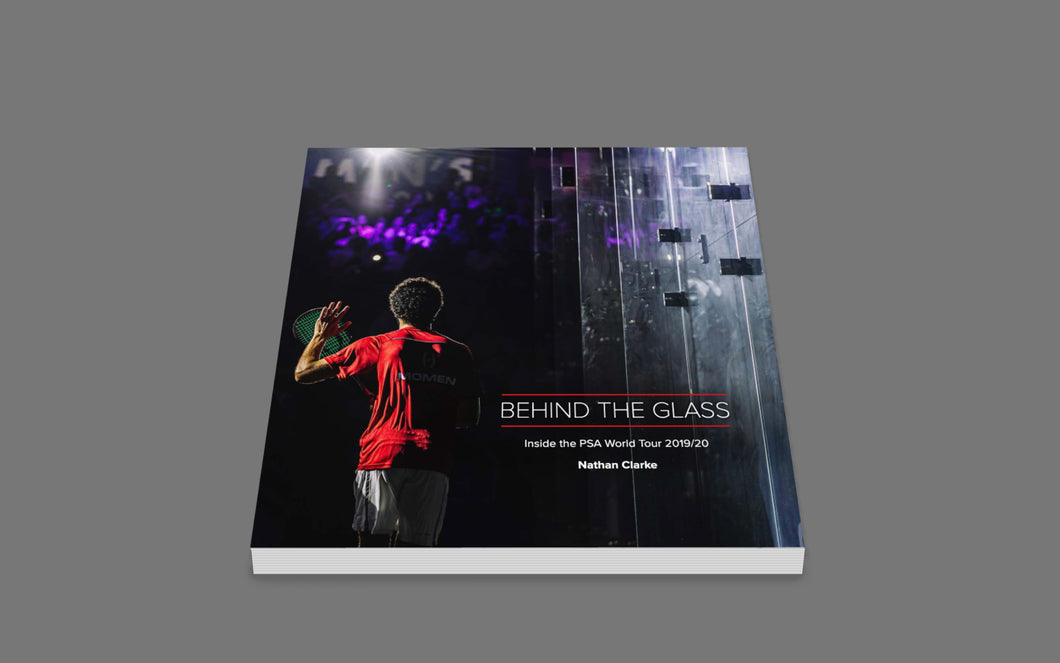 Behind The Glass - 2019/20 PSA World Tour Photobook