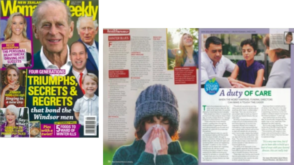 InvoCare New Zealand Branded Content with New Zealand Woman's Weekly by hanton&co