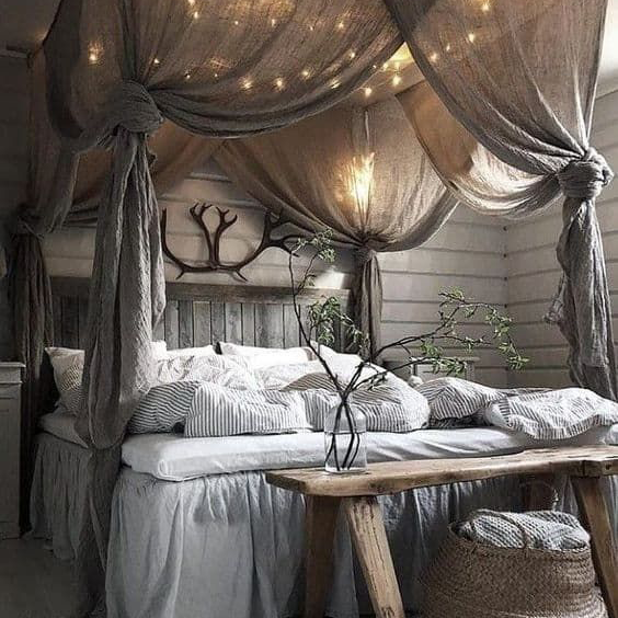 Your Inspiration: Bedroom with Fairy Lights