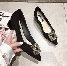 Load image into Gallery viewer, Nan Ji Ren™ Rhinestone Pointed Buckle Shoes  | 🔥 Stock Clearance 🔥