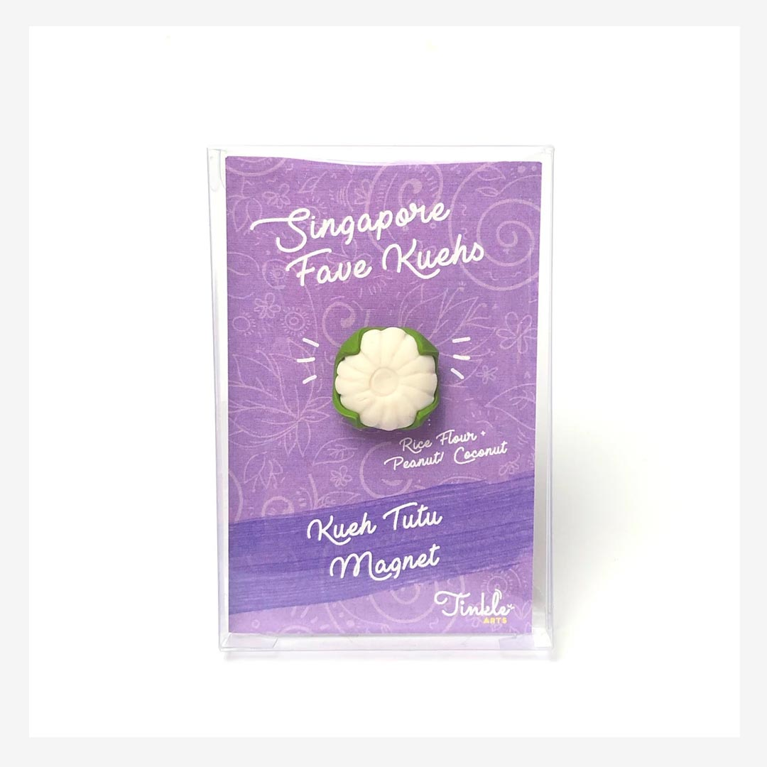 Tinkle Arts Handmade Magnets Kueh Tutu