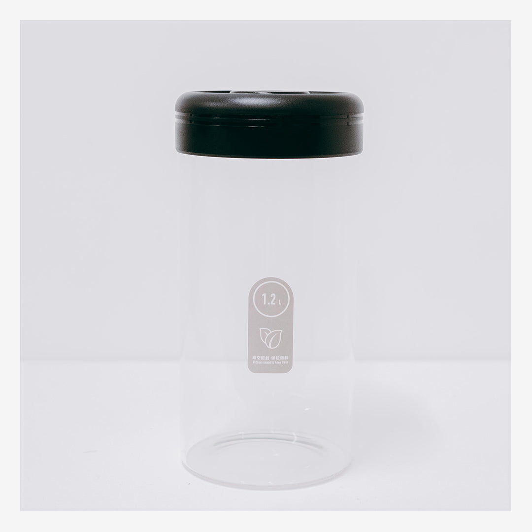 Timemore 1200ml Vacuum Sealed Glass Canister