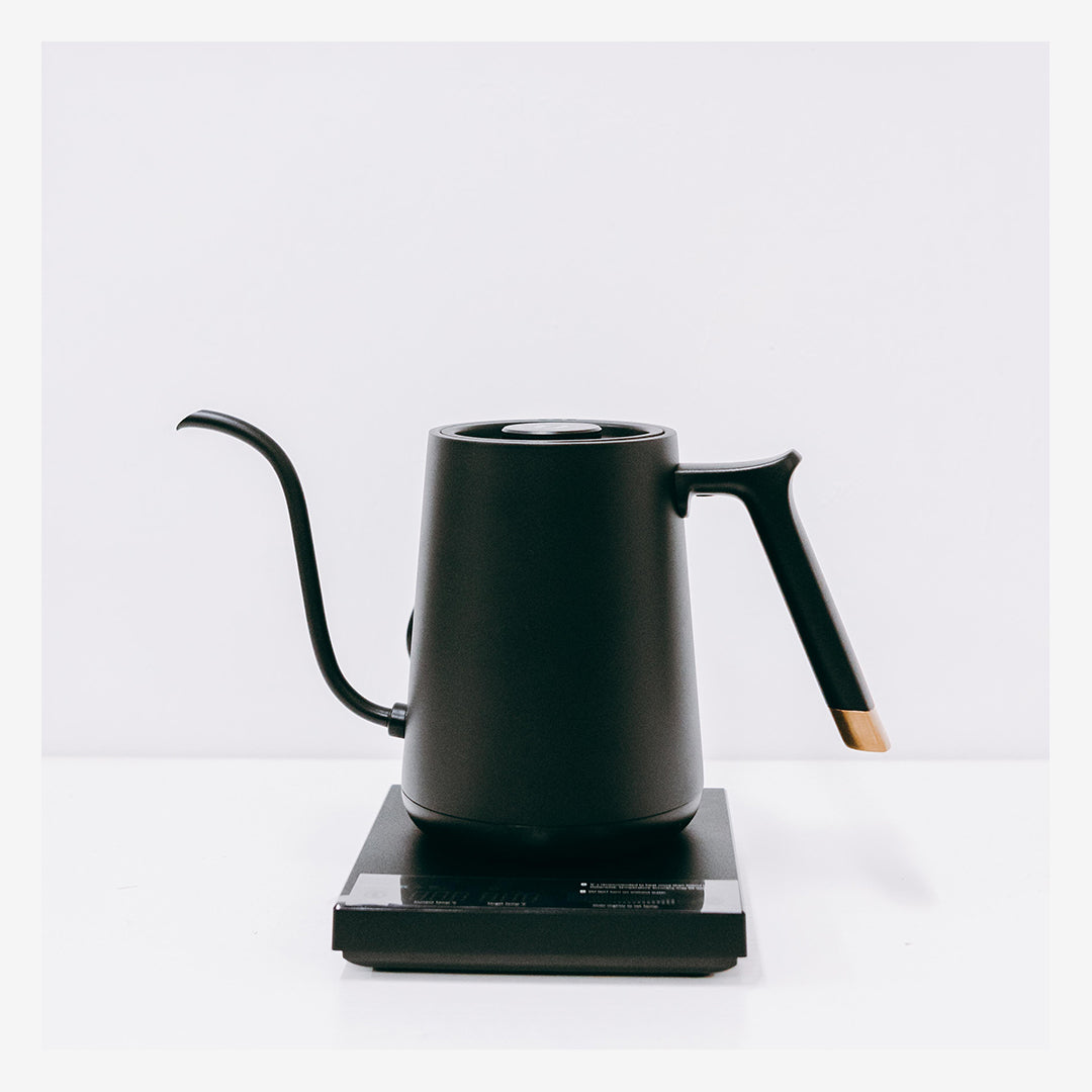 FISH SMART Electric Pour Over Kettle - Black