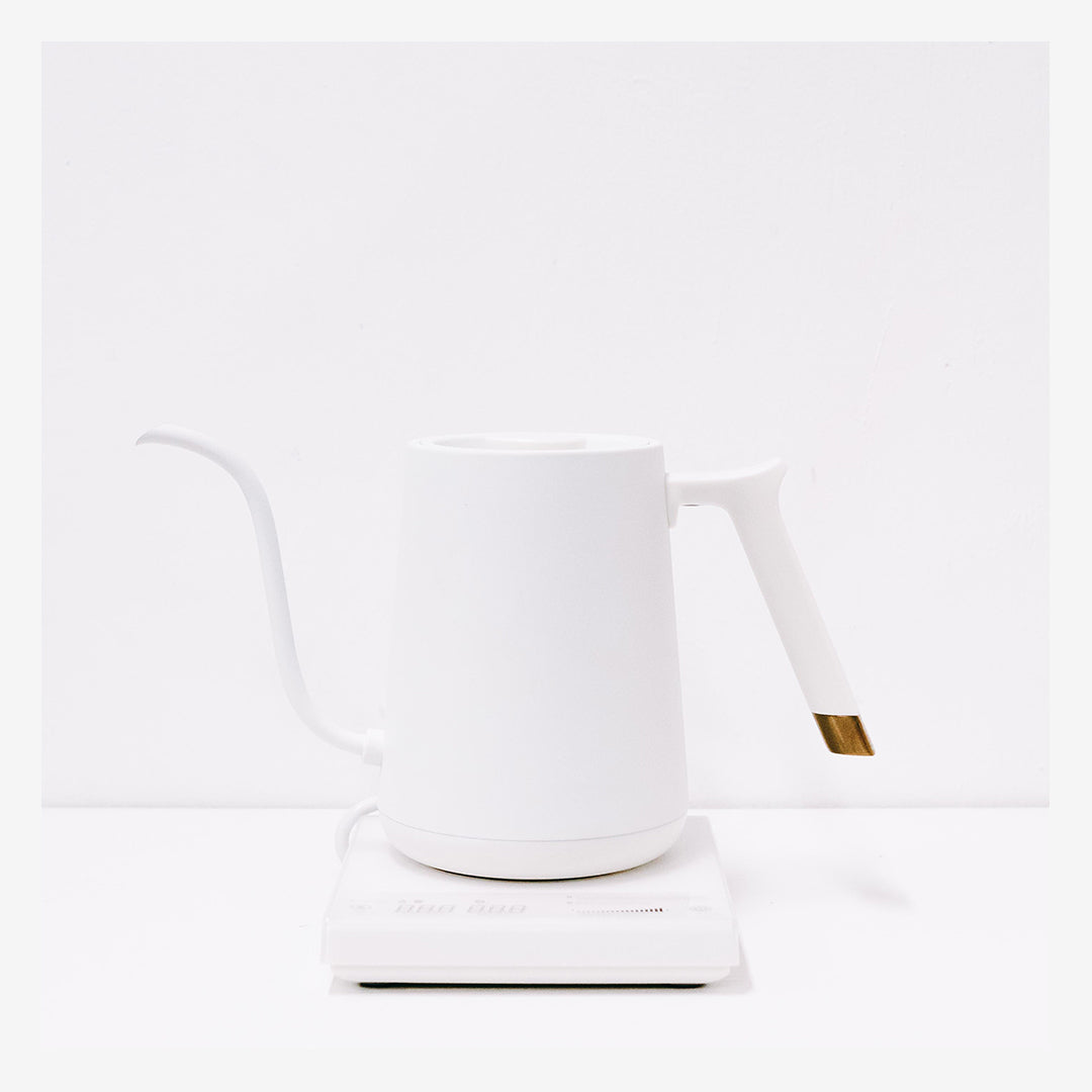 FISH SMART Electric Pour Over Kettle - White