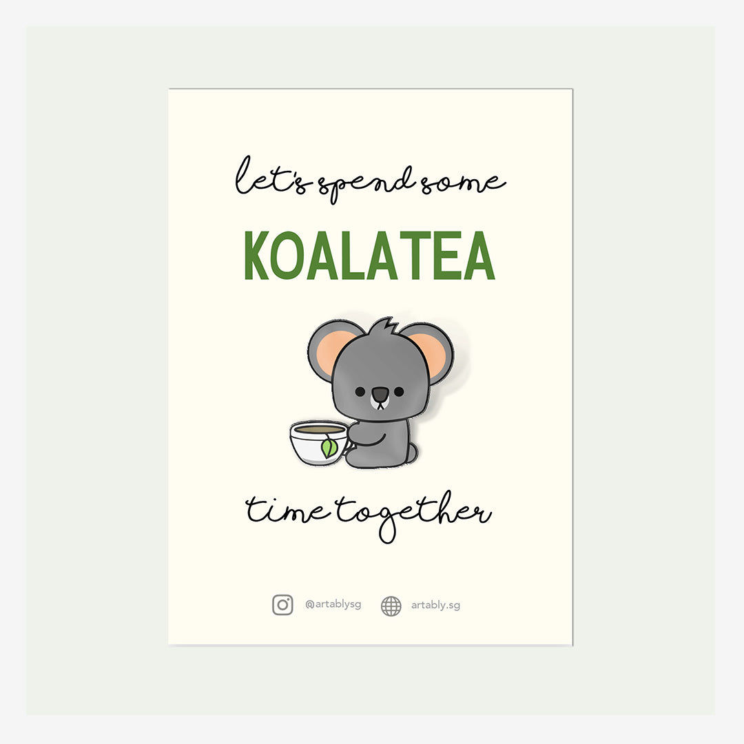 Artably Pin Badge Koalatea