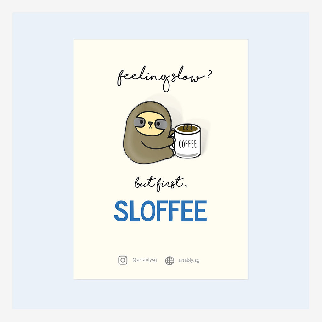 Artably Pin Badge Sloffee
