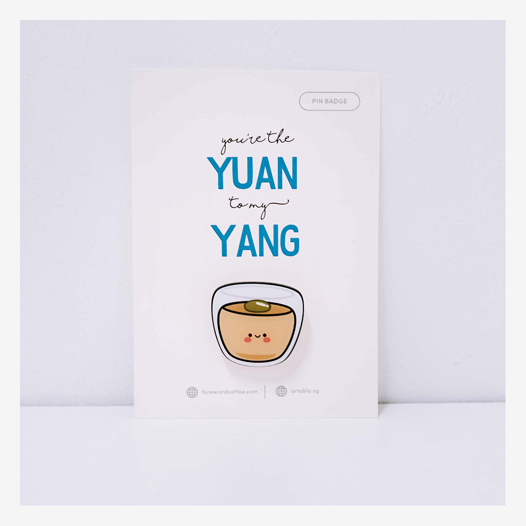 Yuanyang Pin Badge