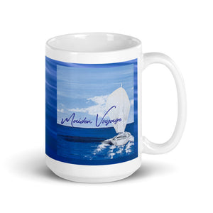 Cover Art Mug - Blue Water Background - Double Image
