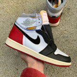 UaG Jordan 1 Retro High x Union Los Angeles 'Black Toe'