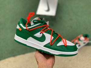 UaG Nike Dunk Low x Off-White 'Pine Green'