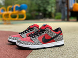 UaG Nike Dunk SB Low x Supreme 'Red Cement'
