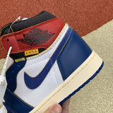 UaG Jordan 1 Retro High Union Los Angeles 'Blue Toe'
