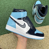 UaG Jordan 1 Retro High 'UNC Patent'