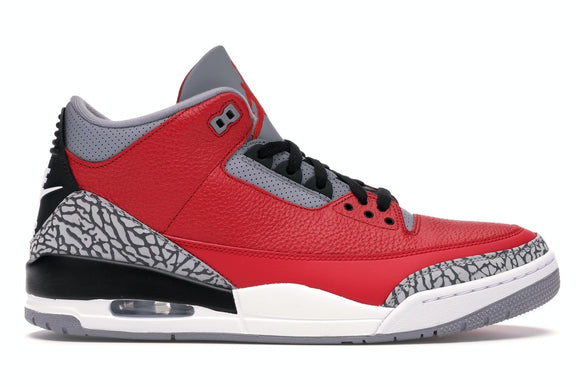 UaG Jordan 3 Retro SE Unite 'Fire Red'