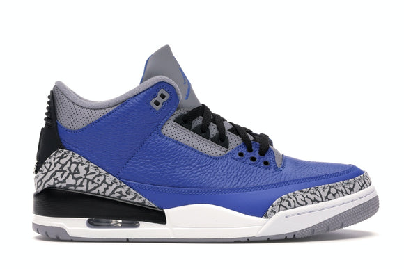 UaG Jordan 3 Retro Varsity 'Royal Cement'