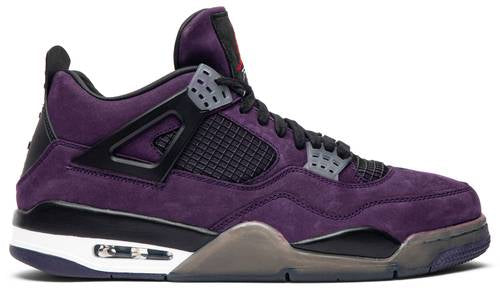 UaG Jordan 4 Retro x Travis Scott 'Purple (Friends and Family)'