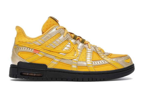 UaG Nike Air Rubber Dunk x Off-White 'University Gold'
