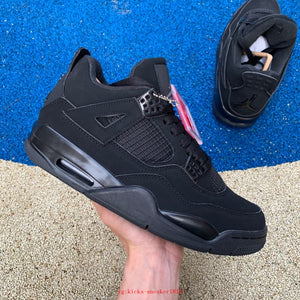 UaG Jordan 4 Retro 'Black Cat'