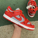 UaG Nike Dunk Low x Off-White 'University Red'