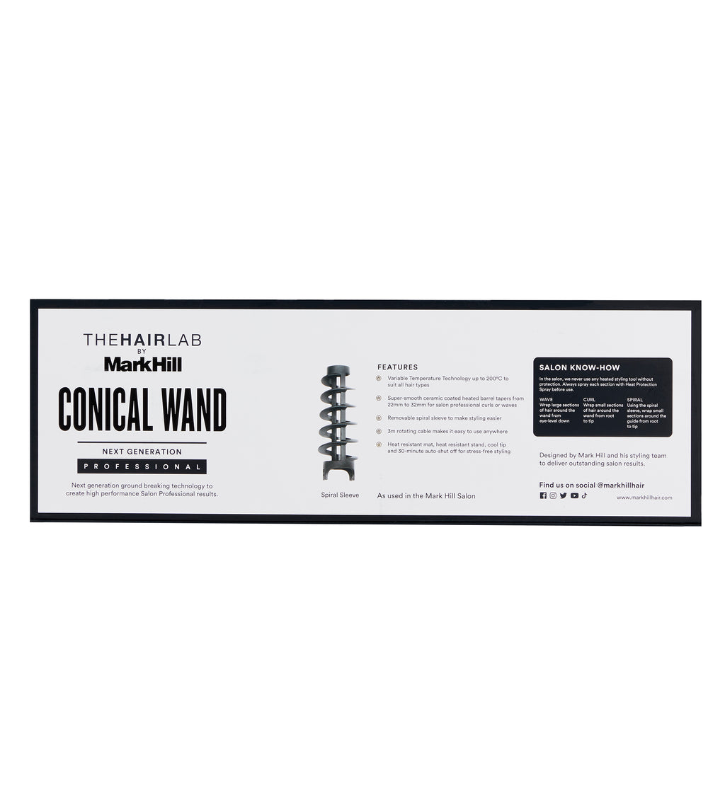 Professional Conical Wand