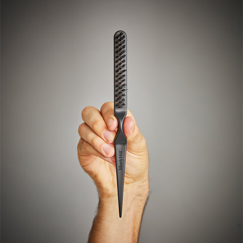 Backcomb brush