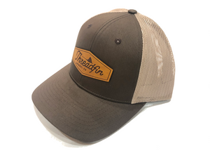 Threadfin Low Profile Leather Patch Hat