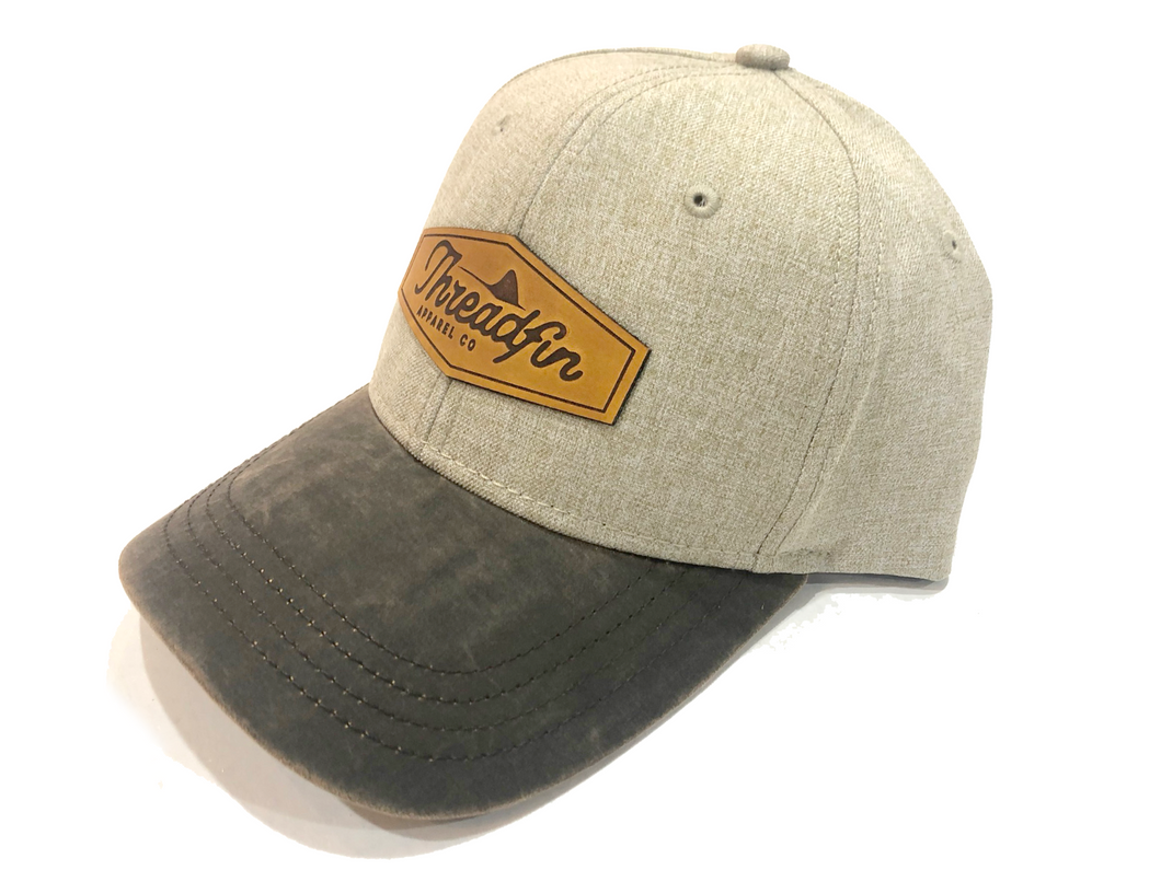 Threadfin Dri-Duck Leather Patch Hat