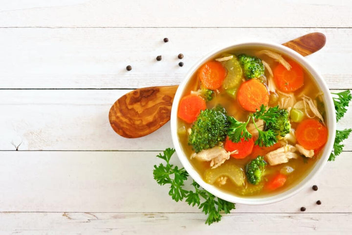 Chicken Veggie Soup Recipe from Scratch
