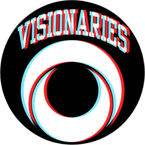 Visionaries Retro 3D Sticker