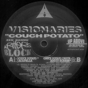 "Visionaries ""Couch Potato"" • 12"" Vinyl Single"
