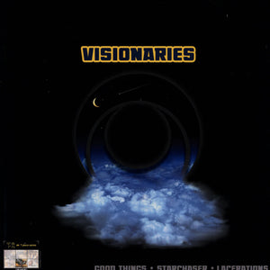 "Visionaries ""Good Things / Star Chaser/ Lacerations"" 12"" Vinyl Single"